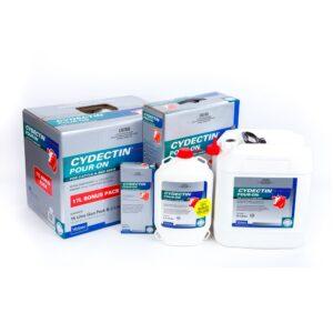 Cydectin Pour-on For Cattle 500mL, 2.2L, 5.5L, 15L & 17L