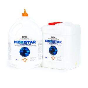 Moxistar Moxidectin Cattle Pour On 5-Litre & 15-Litre