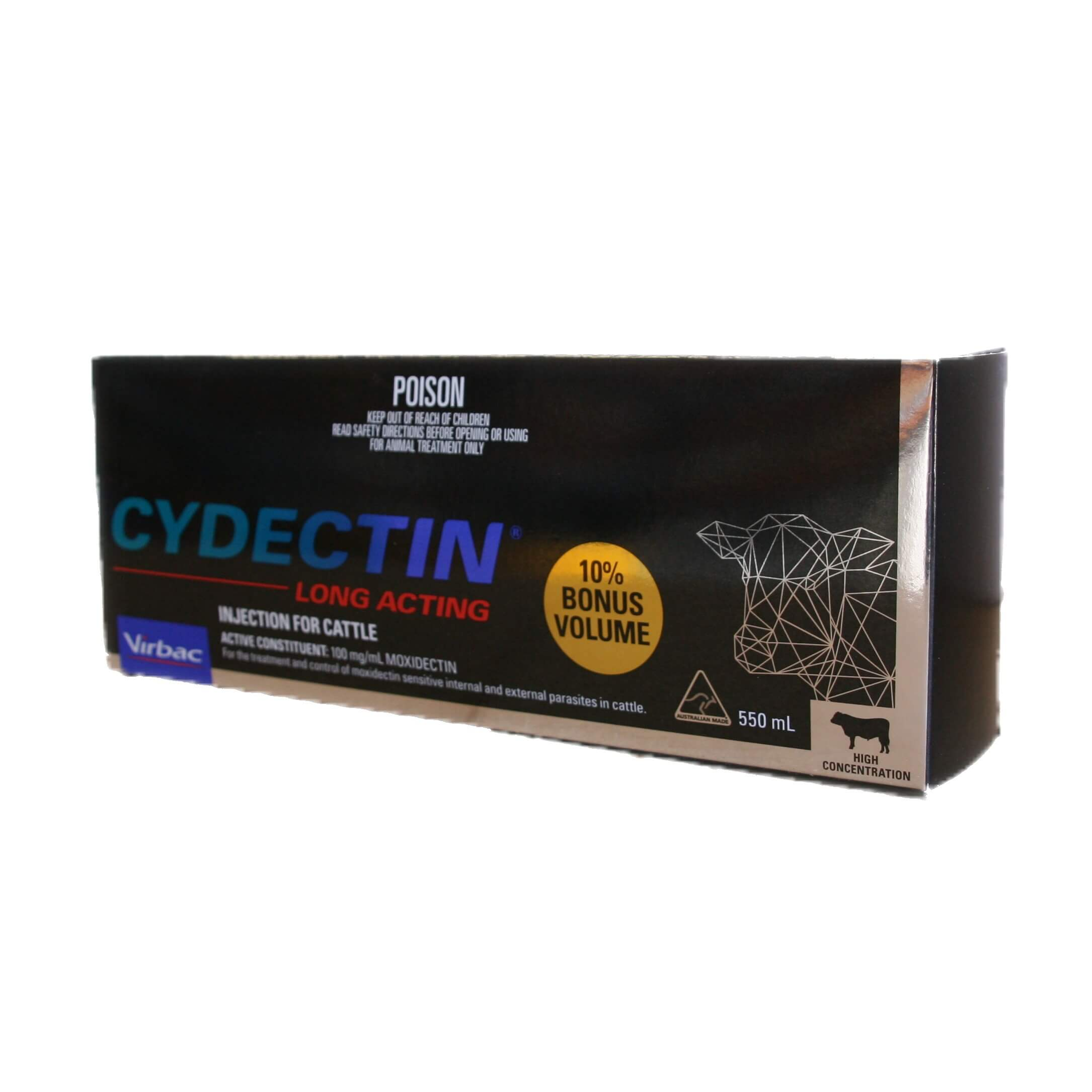 Cydectin LA - Long Acting Injection For Cattle