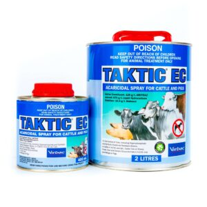 Taktic EC Acaricidal Spray for Cattle And Pigs 400mL & 2-Litre