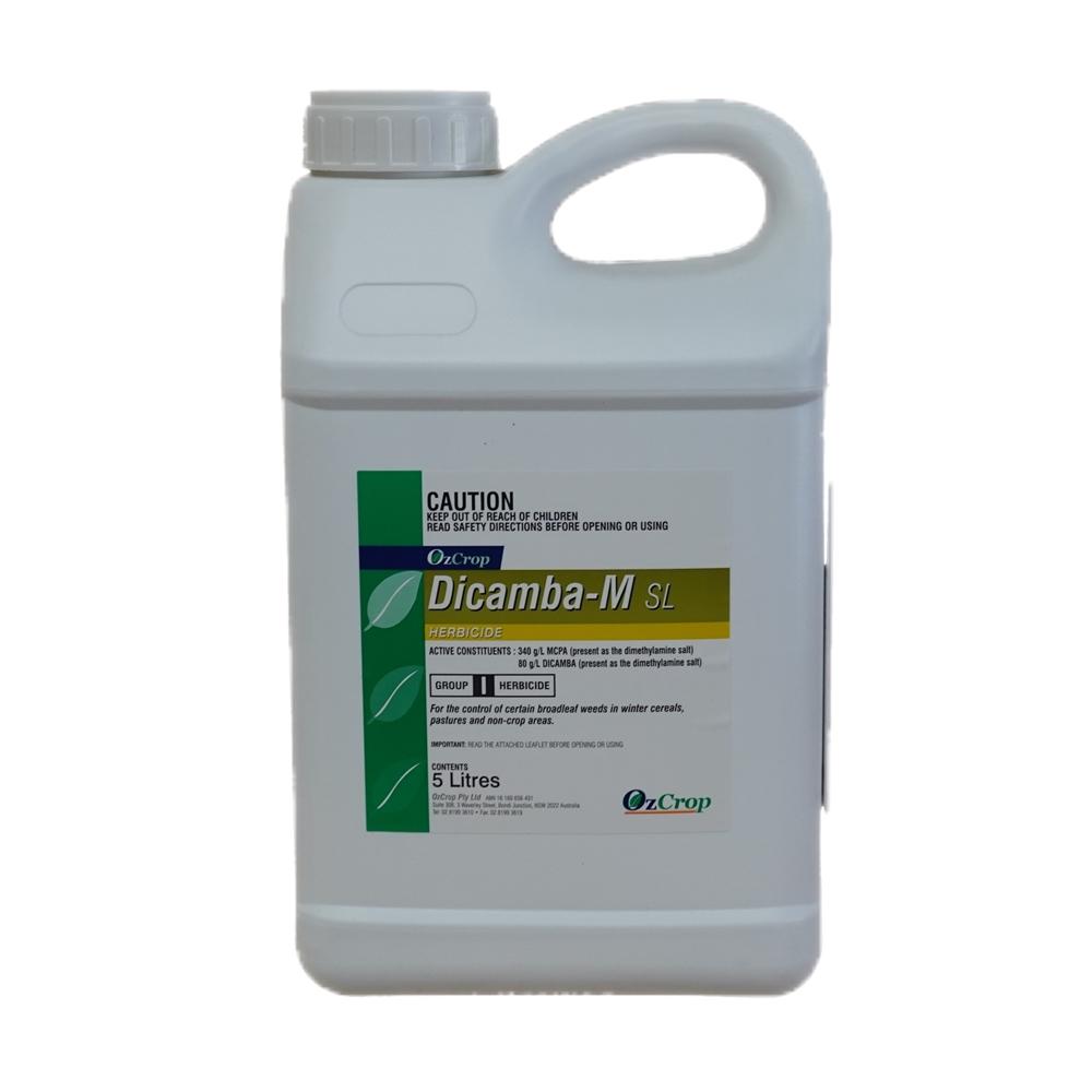 Ozcrop Dicamba M SL Herbicide (Dicamba & MCPA)