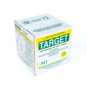 Target Dust Treatment for Insect Control