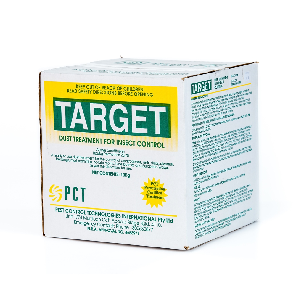Target Dust Treatment for Insect Control (Permethrin)