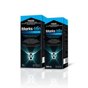 Marks-Min Injectable Trace Mineral With Vitamin B12 For Cattle 500mL & 1L