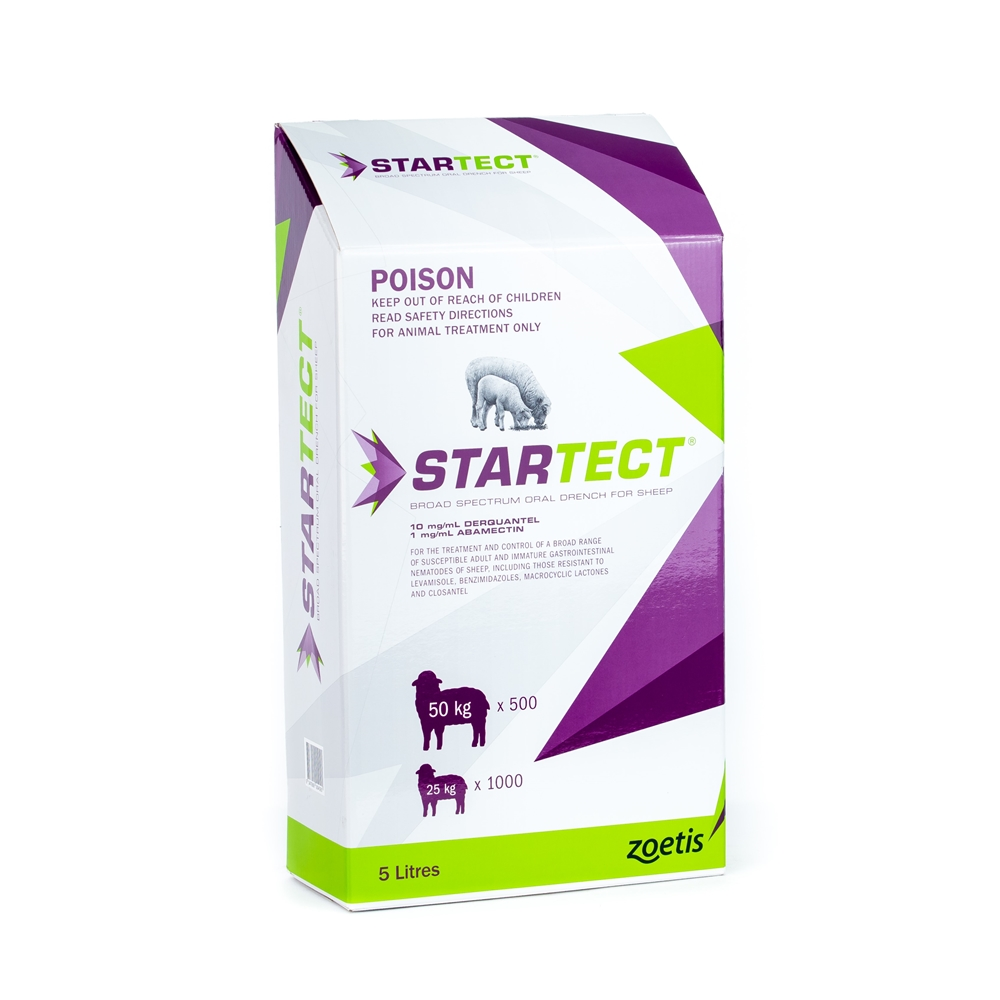 Startect Oral Drench For Sheep (Derquantel & Abamectin)