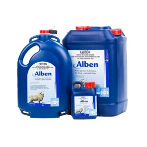 Alben Broad Spectrum Anthelmintic For Sheep, Lambs & Goats_1L_5L_20L
