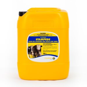 Stampede Diflubenzuron Pour-On Lousicide For Cattle And Sheep 20L