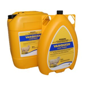 Vanquish Lice Treatment & Blowfly Strike Preventive For Sheep 5L & 20L