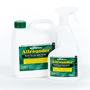 Surefire Allrounder Ready To Use Pyrethroid Esfenvalerate Insecticide 2L & 750mL
