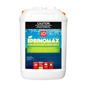 Eprinomax Pour-On For Beef And Dairy Cattle 20L Specialist Sales