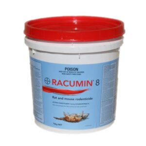 Racumin 8 Rat And Mouse Rodenticide 10kg