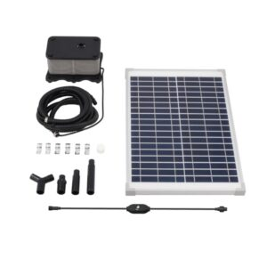 Croc Trough Solar Trough System TPS20 Kit Contents