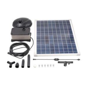 Croc Trough Solar Trough System TPS50 Kit Contents