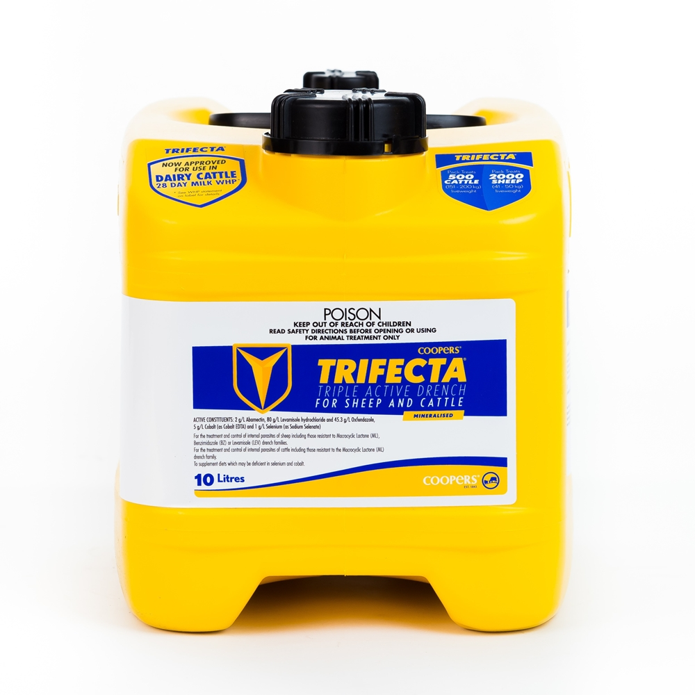 Trifecta Triple Active Drench For Sheep and Cattle