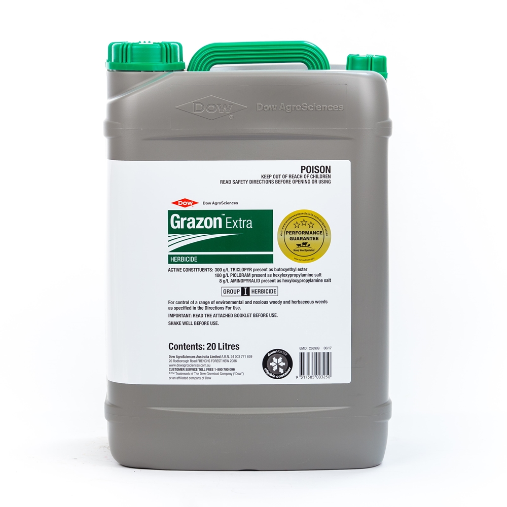 Grazon Extra Herbicide (Triclopyr, Picloram & Aminopyralid)