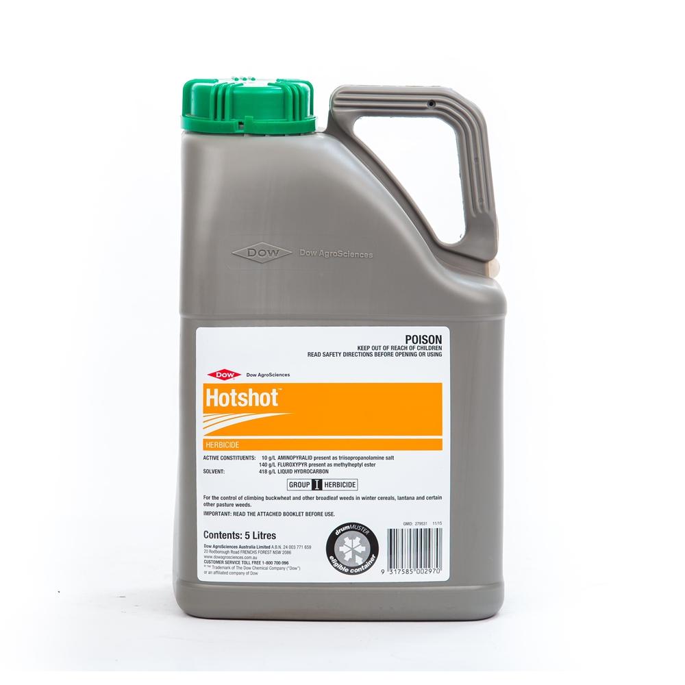 Hotshot Herbicide (Aminopyralid & Fluroxypyr)