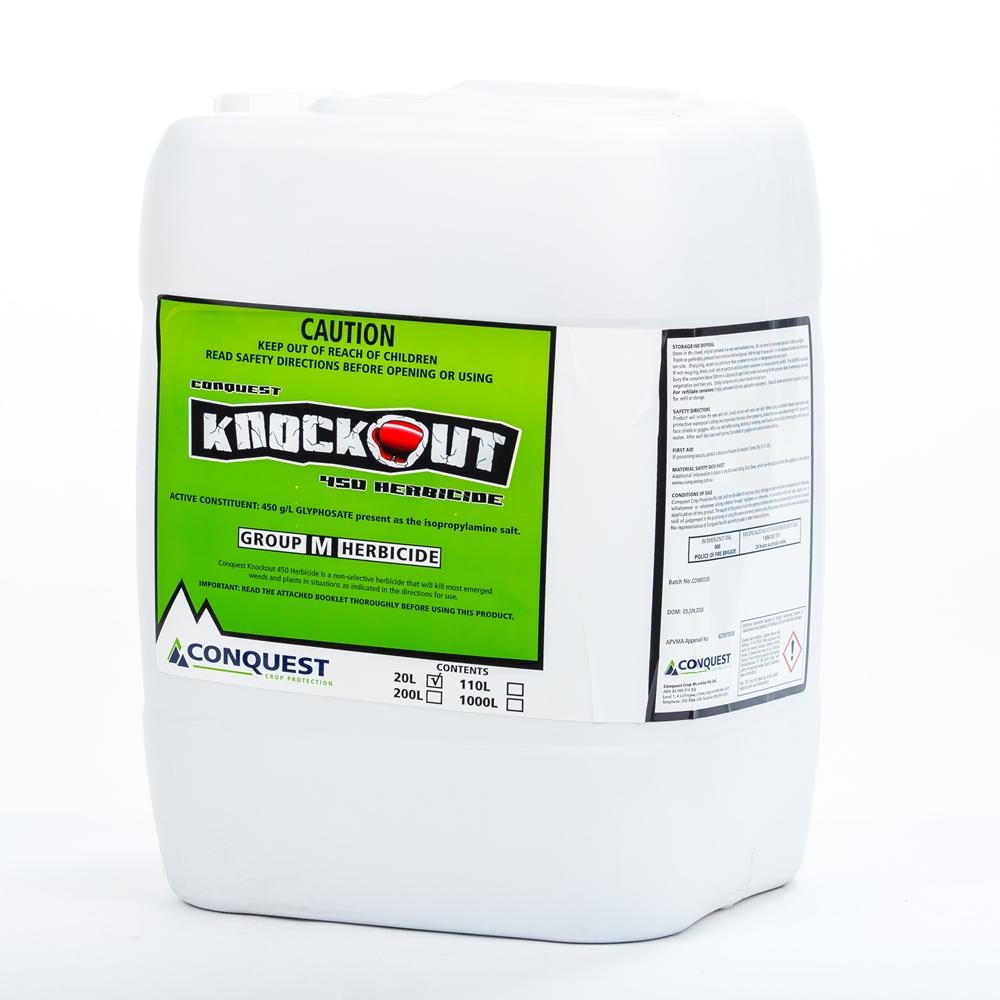 Knockout 450 Herbicide (Glyphosate)