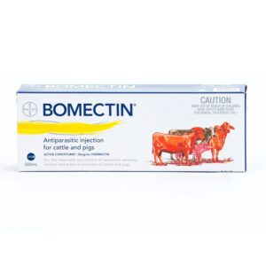 Bomectin Ivermectin Antiparasitic Injection For Cattle and Pigs 500-mL