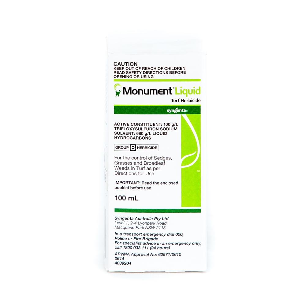 Monument Liquid Turf Herbicide (Trifloxysulfuron)
