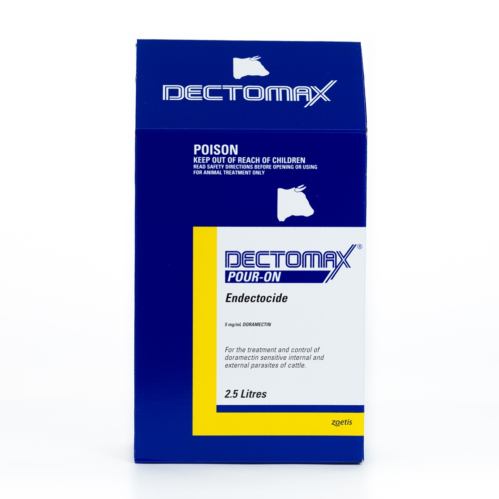 Dectomax Pour-On Endectocide (Doramectin)