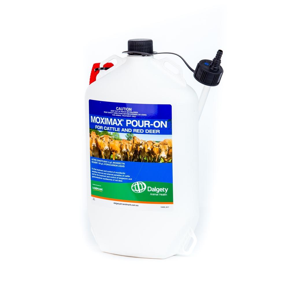 Moximax Cattle Pour-On (Moxidectin)