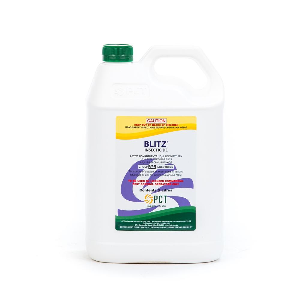 Blitz Insecticide (Piperonyl Butoxide, Deltamethrin & Tetramethrin-R)