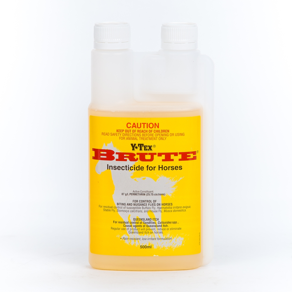Y-Tex Brute Insecticide For Horses (Permethrin)