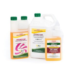 Pounce 500 Timber and Residual Insecticide500mL 1-Litre & 5Litre