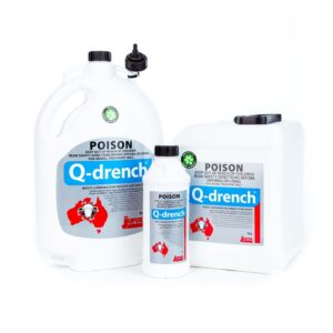 Q-Drench Multi-Combination Abamectin Closantel Levamisole Albendazole Drench for Sheep 1L, 5L & 10L