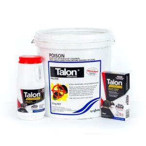 Talon Rat Mouse Killer Pellets Brodifacoum 150gm 1kg 10kg