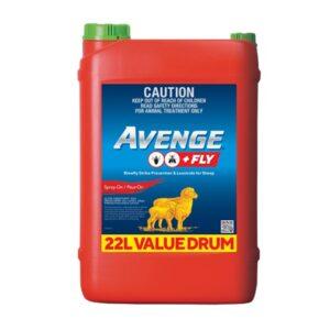 Avenge + Fly - Blowfly Strike Prevention & Lousicide for Sheep 20-Litre