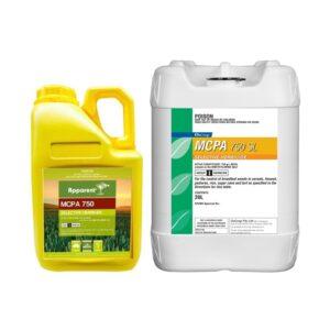 MCPA 750 Selective Herbicide Apparent 5-Litre & OzCrop 20-Litre
