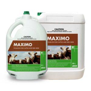 Maximo Moxidectin Pour-On 5-Litre & 20-Litre
