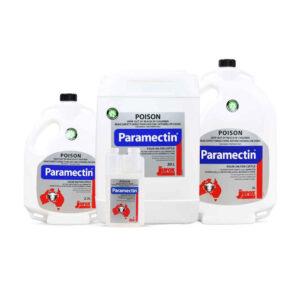Paramectin Pour-On 1L, 2.5L, 5L & 20L