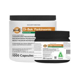 Di-Bak Parkinsonia Bioherbicide 200 & 1000 Capsule Packs