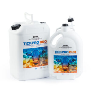 Tickpro Duo Tick Development Inhibitor and Broad Spectrum Pour-On 5-Litre & 20-Litre